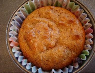 vegan banana nut muffins VC