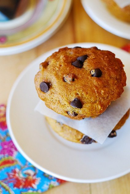 Pumpkin Chocolate Chip Muffins2