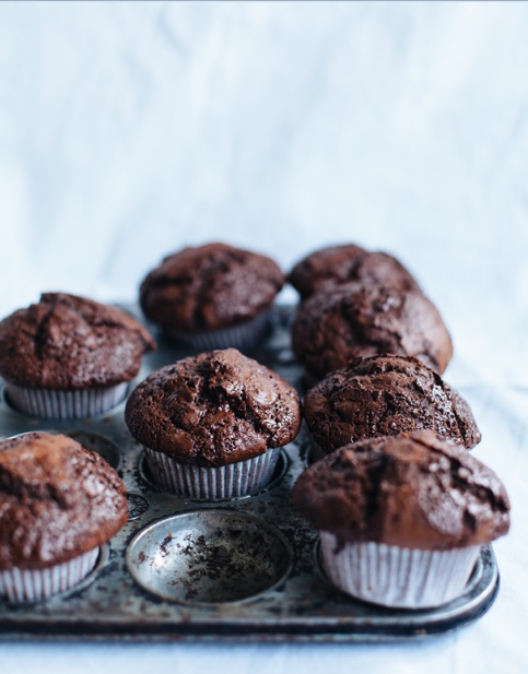 double choco muffins BL