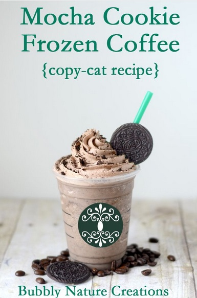 starbucks mocha cookie frozen coffee