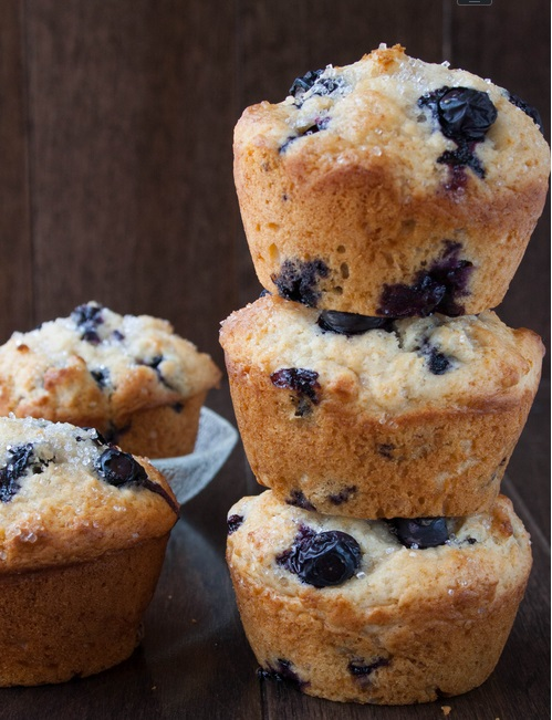 Blueberry Buttermilk Muffins2