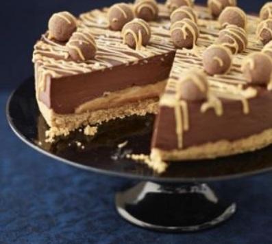 caramel choco torte BBC