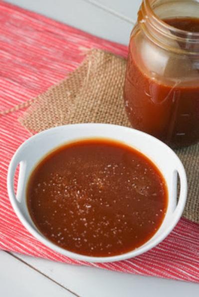 caramel sauce SBC