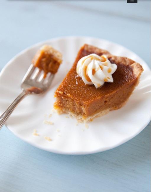 Caramel Spiked Pumpkin Pie2