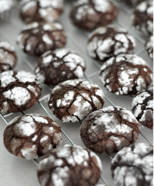 Chocolate crinkles DF