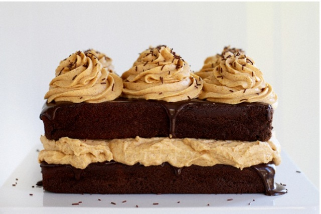 Chocolate Pumpkin cake IAB