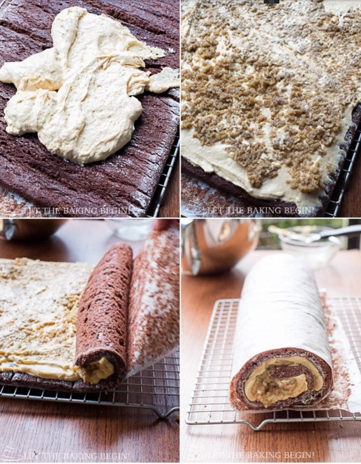 chocolate roll cake LTBB5