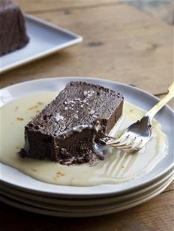 Chocolate terrine BC