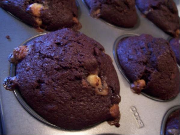 deceitful choco muffins