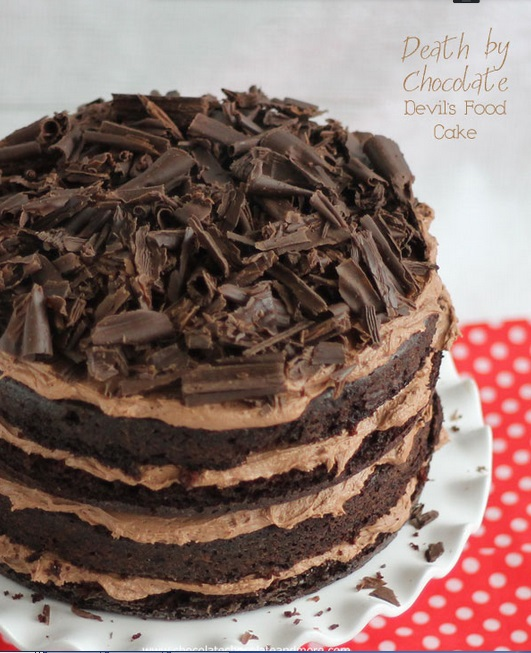 Devil's food cake CCM2