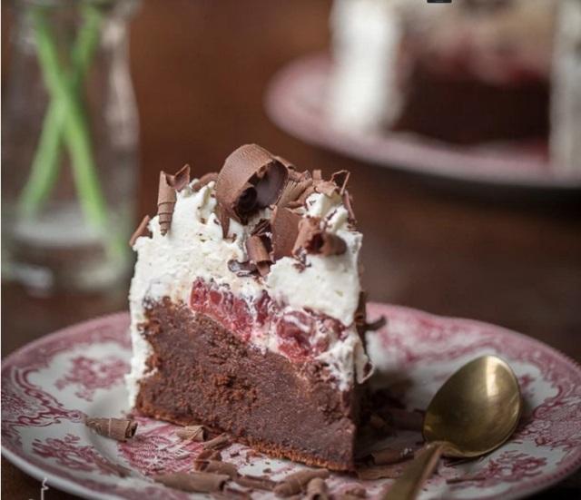 GF Blackforest choco cake