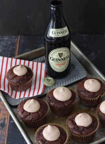 Guinness Chocolate Cupcake MS