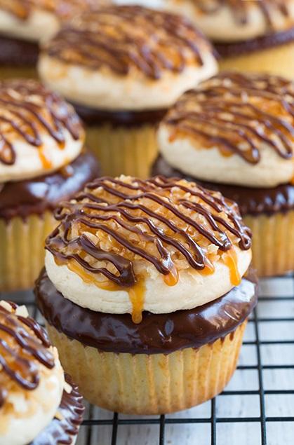 H - Samoa Cupcakes2