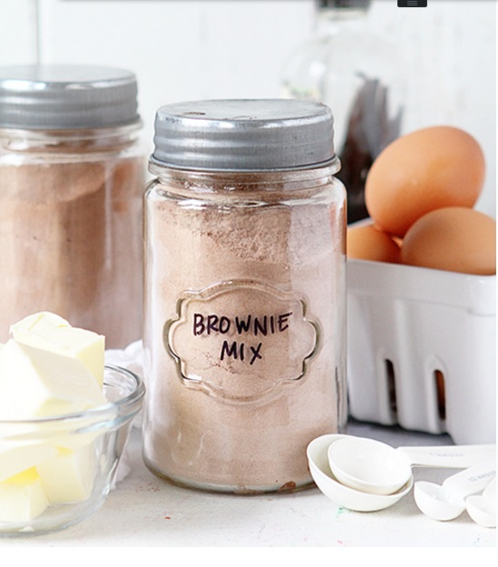 homemade brownie mix IAB