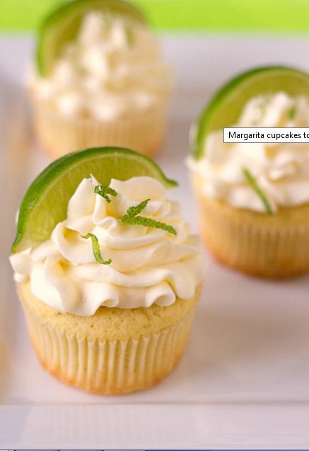 margarita cupcakes BEB