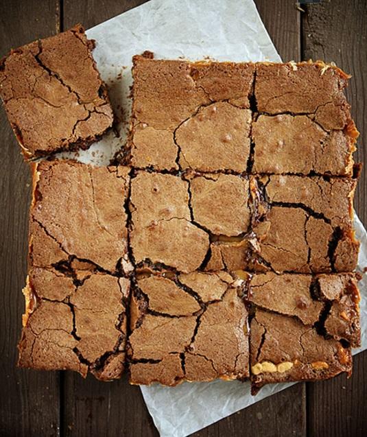 PB Brownie Carmelitas IAB2