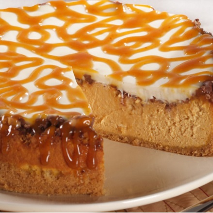 pumpkin toffee cheesecake VBB