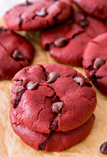 Red Velvet Choco Cookies SBA