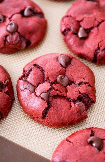 Red Velvet Choco Cookies SBA2