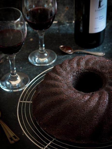 red wine choco cake PSS