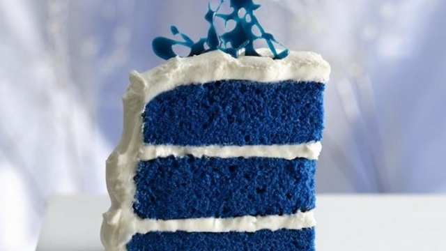 royal blue velvet cake BC