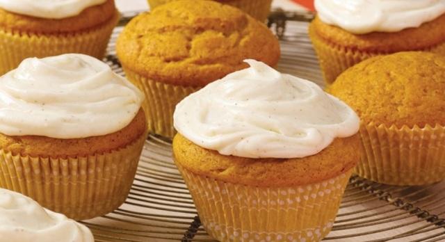 spiced pumpkin cupcakes mcCormick