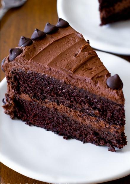 triple choco cake SBA