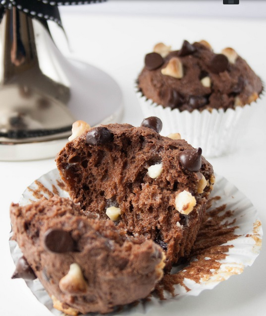 Triple choco Muffins2