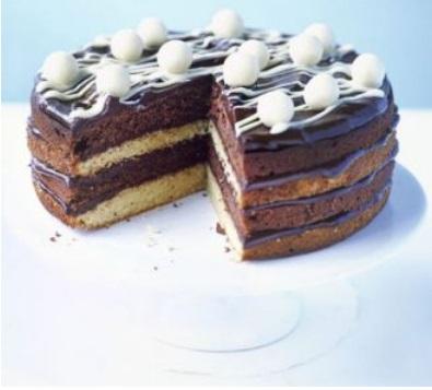 WDchoco cake BBC